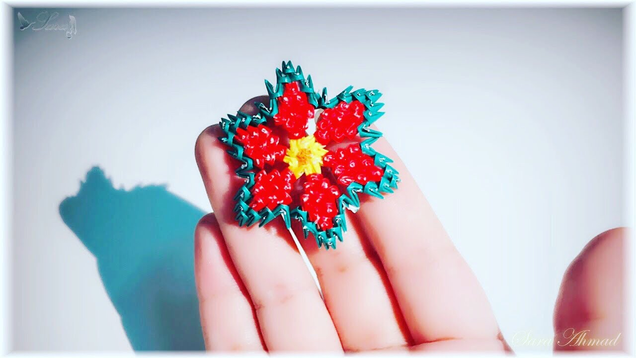 Origami Flower 🌻 Very Easy and Simple - YouTube | 720x1280