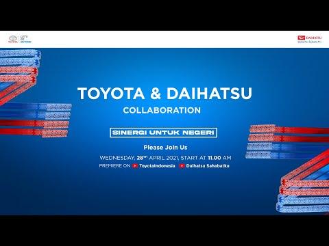 "Introducing the Latest Collaboration by Toyota, Daihatsu, and Astra – ""Sinergi untuk Negeri"""