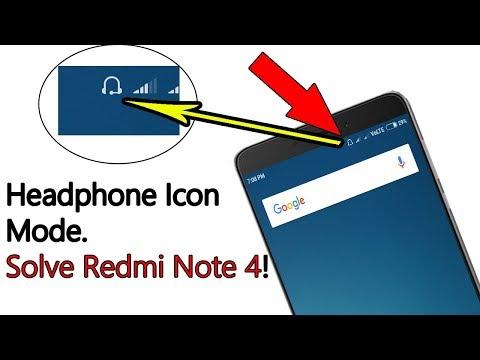 Redmi Note 4 Headphone Mode. How To  fix.