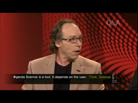 Lawrence Krauss on Q&A - Science vs Religion