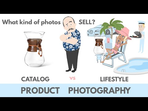 What kind of photos sell? CATALOG vs LIFESTYLE product photography VIDEO