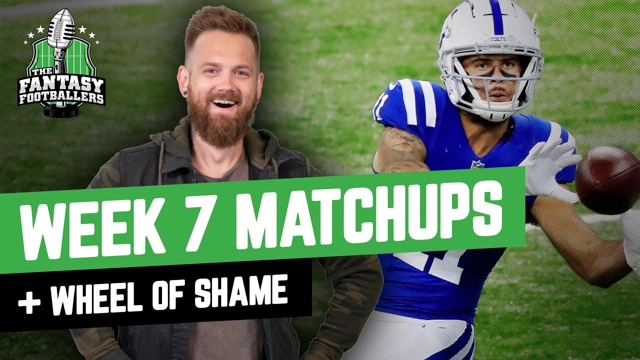 Fantasy Football 2021 - Week 7 Matchups + Funny Bones, Wheel of Shame - Ep. 1139