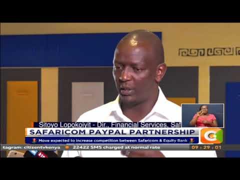 Safaricom opens up M-pesa to support International transactions