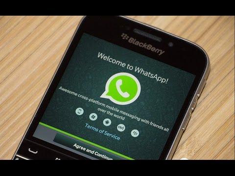 Instalar Whastapp Para BlackBerry OS 5 - 7.1 Marzo - Abril 2017
