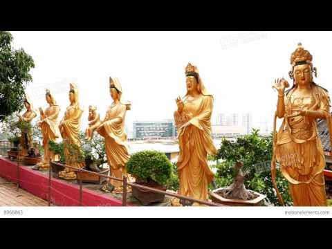 Taiwan Buddhist Temple (HD1080p)