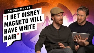 Michael Fassbender & James McAvoy Respond to IGN Comments