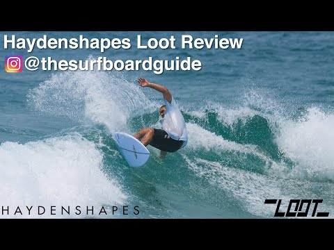 Haydenshapes Loot + Futures Fins HS Thruster and Quad Review - The Surfboard Guide