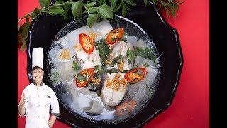 BÍ QUYẾT nấu CANH MĂNG CHUA cá chuẩn vị thơm ngon
