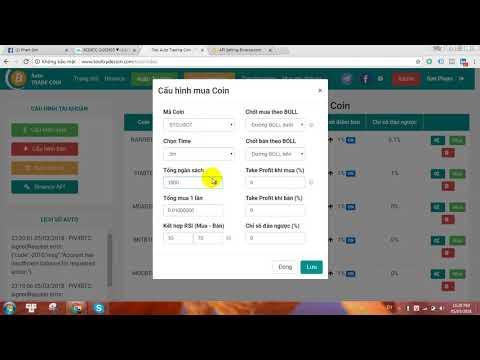 Tool Auto Trade Coin tự động bản V1.3.6 Update