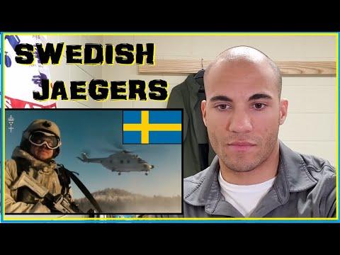 US Marine reacts to Swedish Jaegers (Swedish Light Infantry)