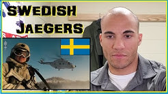 US Marine reacts to Swedish Jaegers (Swedish Light Infantry)