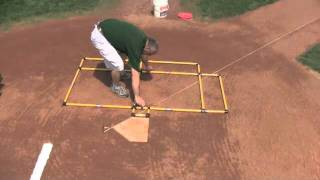 Triple Play Batter's Box Template