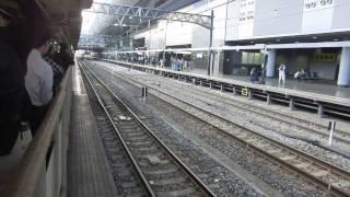 京急新1000形(1601F)甲種輸送 京都駅通過