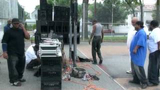 Eva Marie King, MS - at SouthSide Family Day with DJ Amazin