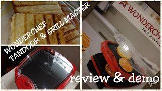 WONDERCHEF TANDOOR & GRILL MASTER / REVIEW & DEMO /