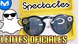 TENGO LENTES DE SNAPCHAT LOS SPECTACLES