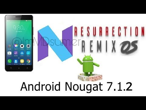 How to install Resurrection Remix 7 1 2 Rom in Lenovo A6000/Plus 😱 | Short  Review |
