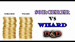 Wizard vs Sorcerer: Which is better? D&D 5e