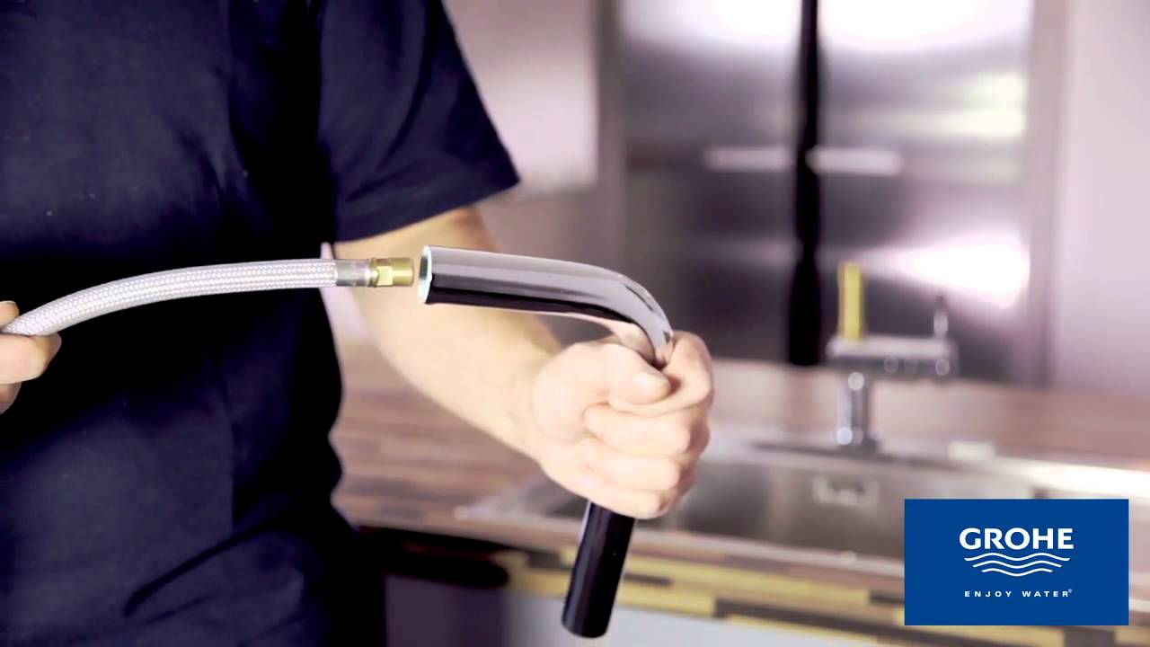 Grohe: Montage Minta Touch - YouTube