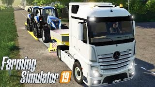 FARMING SIMULATOR 19 #125 - COMPRO 2 TRATTORI NEW HOLLAND CINGOLATI - GAMEPLAY ITA