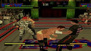 ECW Anarchy Rulz - Tommy Dreamer (Career Mode) Part 3 (PS1)