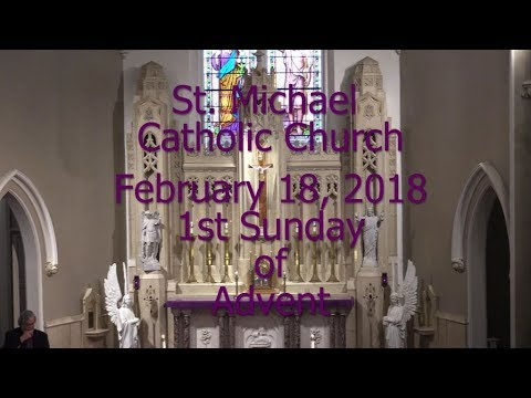 Mass from Sunday, February 18, 2018