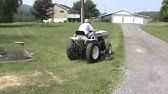 Short Ride On the Bolens ISEKI Diesel H1502 - YouTube