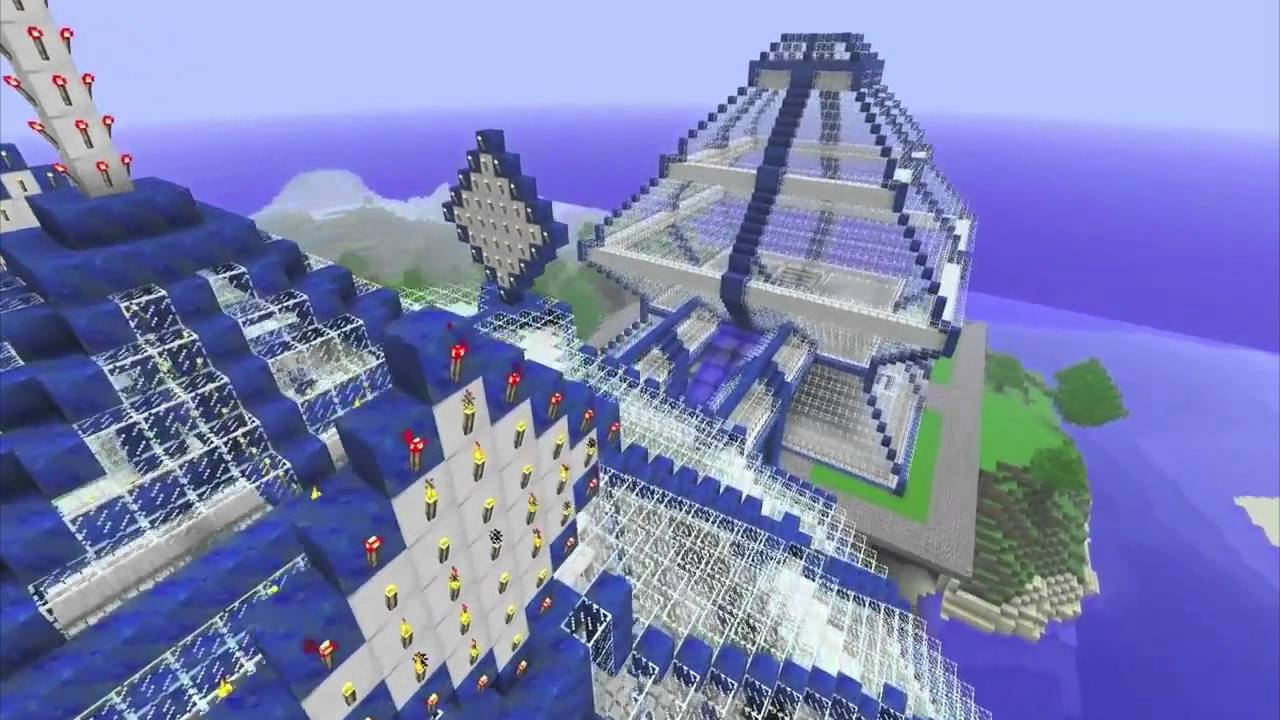 Minecraft unleashed best creations ever hd montage for Pictures of the coolest things in the world