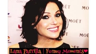 Lana Parrilla | Funny Moments