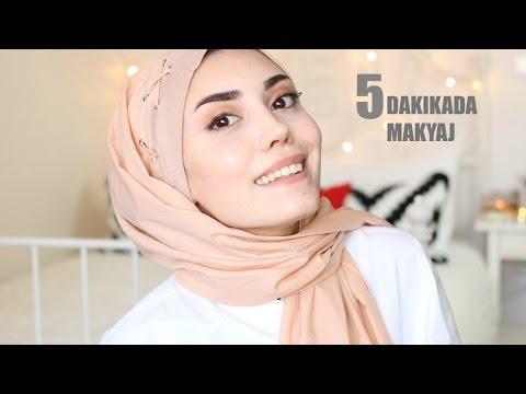 5 Dakikada Makyaj , 20 Saniyede  Şal Bağlama
