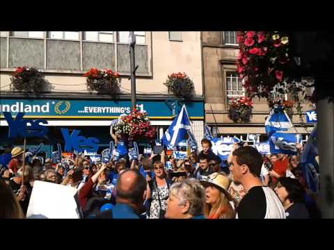 Flower of Scotland - Yes Inverness