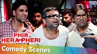 พี่เฮร่า เพริ | ฉากตลกที่ดีที่สุด | Akshay Kumar - Paresh Rawal Rajpal Yadav - Johny Lever
