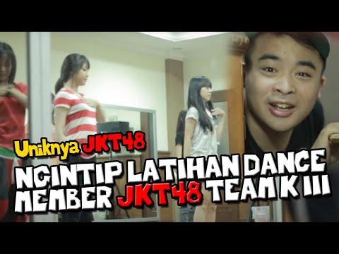Uniknya JKT48 : Ngintip latihan dance member JKT48 Team K III