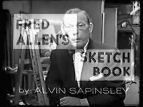 Fred Allen's Sketchbook ARMSTRONG CIRCLE THEATER, November 9, 1954