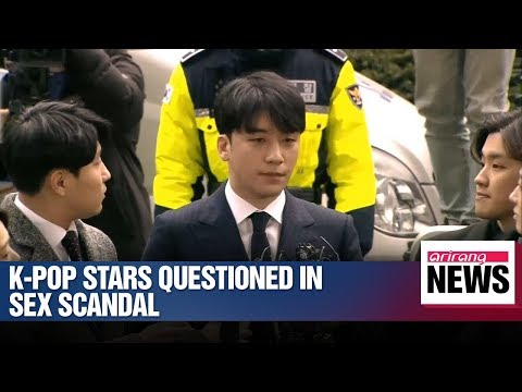 K-Pop stars Seungri & Jung Joon-young questioned in sex scandal Mp3