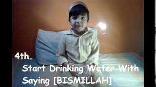 Pani Peene Ki Sunnatein In - Sunnah Of Drinking Water In {Hindi/Urdu}{English Subs} - Moosa Ismail