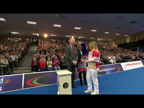 JUST 2018 World Indoor Bowls Championships: Ladies Singles Final