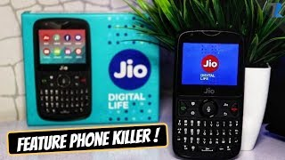 JioPhone 2 Unboxing & Hands On - Feature Phone Killer?
