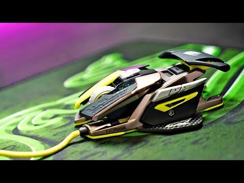 видео: Игровая мышка трансформер