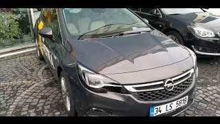 2015 Opel Astra k 1.6 Cdti 136 Hp 6AT Test
