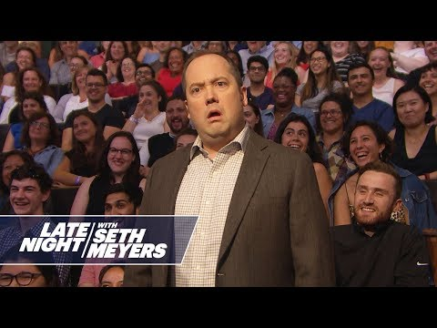 See Late Night Skit - The Leave Him Alone Guy Sticks Up for Jared Kushner!