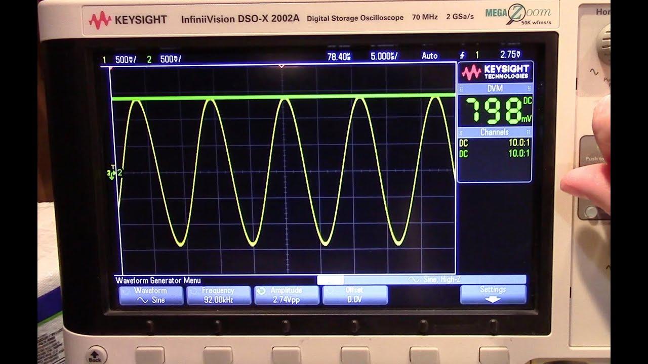 a 100khz zero droop precision peak detector youtube rh youtube com Sound Detector Circuit Peak Detector Schematic