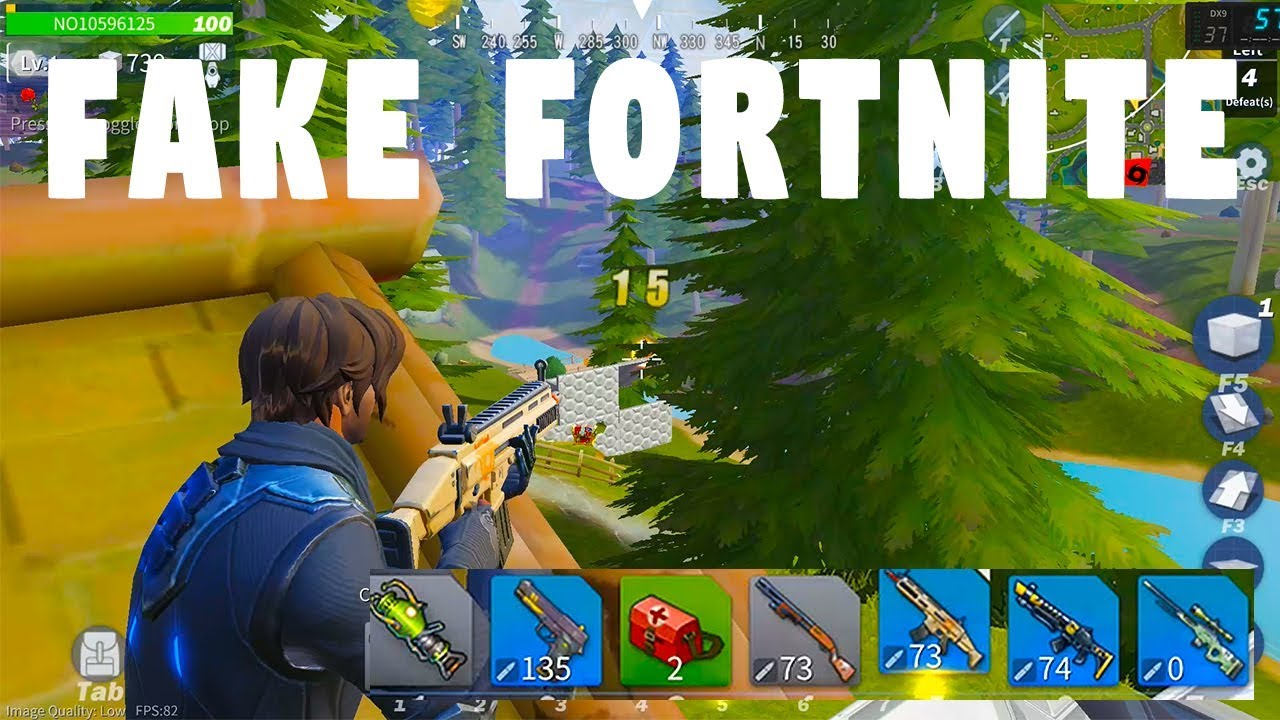 Playing Fake Fortnite Game It S Actually Not Bad Free Battle Royale Creative