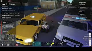 A Glitched Suspect and a Stolen Car   New Haven County   ROBLOX