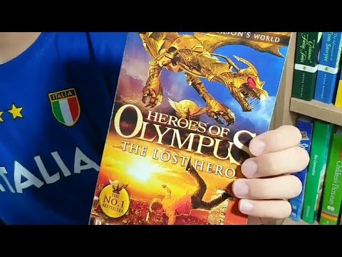 [BookQuester] 'HEROES OF OLYMPUS - THE LOST HERO' : Review