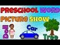 Preschool Word Picture Show - Learn to Read 33 Common Nouns - Pre-K Prep