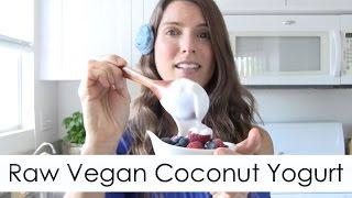 Easy Coconut Yogurt & Sour Cream Recipe - Raw Vegan