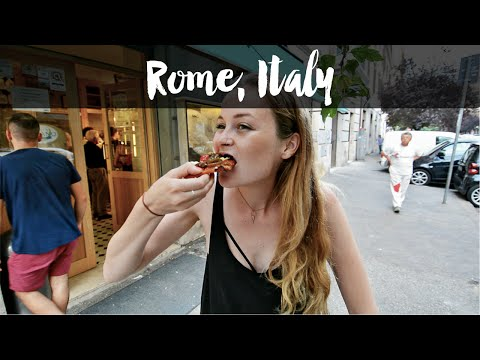 FINDING THE BEST PIZZA AND CANNOLI IN ROME, ITALY