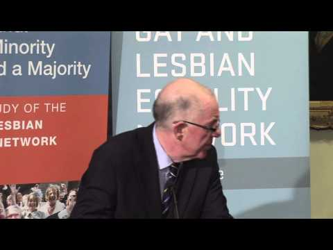 'Civil Partnership and Ireland: How a Minority Achieved a Majority' (Part Two of Two videos)