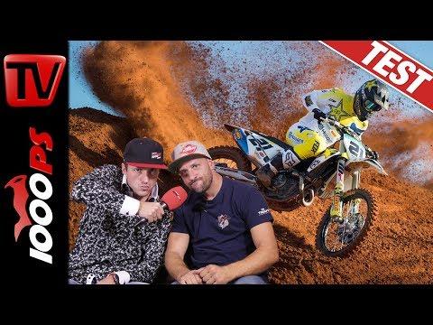 1000PS fährt WM Motocross - Husqvarna Factory MX Bike Test